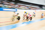 Natalia Rutkowska of Poland competes in the Women's Points Race 25 km Final during the 2017 UCI Track Cycling World Championships on 16 April 2017, in Hong Kong Velodrome, Hong Kong, China. Photo by Marcio Rodrigo Machado / Power Sport Images