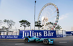 Kamui Kobayashi of Japan from MS & AD Andretti Formula E competes during the FIA Formula E Hong Kong E-Prix Round 2 at the Central Harbourfront Circuit on 03 December 2017 in Hong Kong, Hong Kong. Photo by Marcio Rodrigo Machado / Power Sport Images