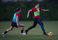 Carson, CA - January 14, 2018: The USWNT trains during their annual January camp in California.