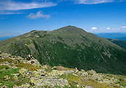 Appalachian Trail - Mount Adams from the Gulfside Trail near Mount Jefferson in the White Mountains, New Hampshire.