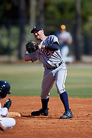 Detroit Tigers Will Maddox (29) during a Minor League Spring Training intrasquad game on March 24, 2018 at the TigerTown Complex in Lakeland, Florida.  (Mike Janes/Four Seam Images)