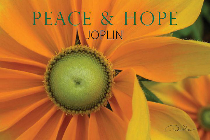 These are postcards being donated to the people of Joplin, Missouri.
