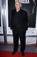 "NEW YORK, NY - NOVEMBER 06: Bruce Dern New York Special Screening of Paramount Pictures' ""Nebraska"" held at Paris Theater on November 6, 2013 in New York City. (Photo by Jeffery Duran/Celebrity Monitor)"
