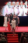 Spanish national team of rhythmic gymnastics during 37 Sport Gala - National Sports Awards 2017. March 6,2017. (ALTERPHOTOS/Acero)