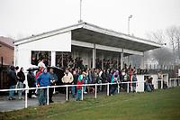 General view of Hebburn FC Football Ground, Hebburn Sports & Social Club, Victoria Road West, Hebburn, Tyne & Wear, pictured on 9th April 1993