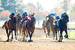 November 7, 2020 :Horses race during the Qatar Fort Springs Stakes on Breeders' Cup Championship Saturday at Keeneland Race Course in Lexington, Kentucky on November 7, 2020. Carolyn Simancik/Breeders' Cup/Eclipse Sportswire/CSM