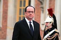 Francois Hollande - SOMMET INFORMEL DES CHEFS DE GOUVERNEMENT ALLEMAND, ESPAGNOL, ITALIEN ET FRANCAIS