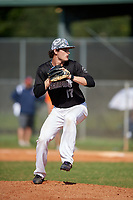 Alden Segui (10) during the WWBA World Championship at Terry Park on October 8, 2020 in Fort Myers, Florida.  Alden Segui, a resident of Tampa, Florida who attends Tampa Jesuit High School, is committed to North Carolina.  (Mike Janes/Four Seam Images)