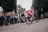 Christophe Laporte (FRA/Cofidis)<br /> <br /> 76th Paris-Nice 2018<br /> stage 6: Sisteron > Vence (198km)