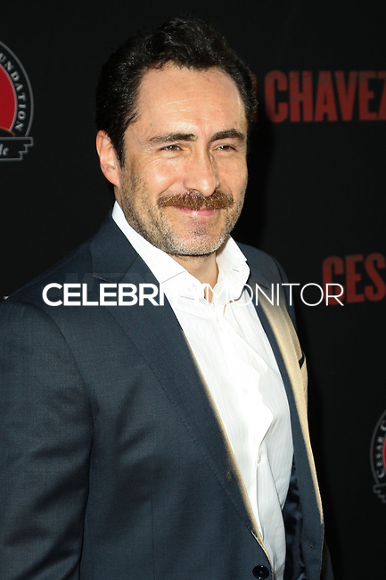 """HOLLYWOOD, LOS ANGELES, CA, USA - MARCH 20: Demian Bichir at the Los Angeles Premiere Of Pantelion Films And Participant Media's """"Cesar Chavez"""" held at TCL Chinese Theatre on March 20, 2014 in Hollywood, Los Angeles, California, United States. (Photo by Celebrity Monitor)"""