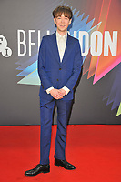 """Alex Lawther at the 65th BFI London Film Festival """"The French Dispatch"""" Headline gala, Royal Festival Hall, Belvedere Road, on Sunday 10th October 2021, in London, England, UK. <br /> CAP/CAN<br /> ©CAN/Capital Pictures"""
