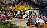 Oesterreich, Steyrisches Salzkammergut, Goessl am Grundlsee: Gasthof, Restaurant am See | Austria, Styrian Salzkammergut, Goessl at Grundl Lake: inn, restaurant