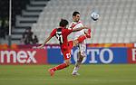 Syria vs IR Iran during the AFC U-22 Mens Championship Qatar 2016 Group A match on January 12, 2016 at the Jassim Bin Hamad Stadium in Doha, Qatar. Photo by Nadim Aljabi / Power Sport Images
