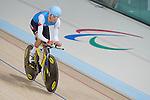 Michael Sametz, Rio 2016 - Para Cycling // Paracyclisme.<br /> Para Cycling participates in a track cycling training session // Para Cycling participe à une session d'entraînement de cyclisme sur piste. 06/09/2016.