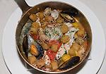 PAN Mixed Seafood, Il Convivio Restaurant, Rome, Italy, Europe