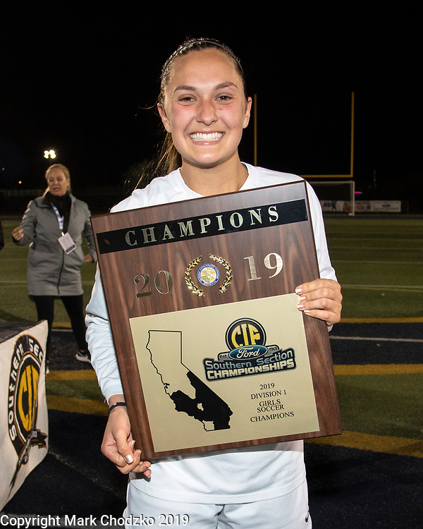 JSerra's Isabell D'Aquilla, soccer, sports, action, athletes, crowds
