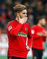 Lukas HOELER (HOELER), SCF, Halbkoerper,  Einzel hoch, Fussball, 1. Bundesliga  2017/2018<br /> <br />  <br /> Football: Germany, 1. Bundesliga, SC Freiburg vs Bayer 04 Leverkusen, Freiburg, 03.02.2018 *** Local Caption *** © pixathlon<br /> Contact: +49-40-22 63 02 60 , info@pixathlon.de