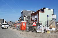 Huizen in aanbouw in Almere