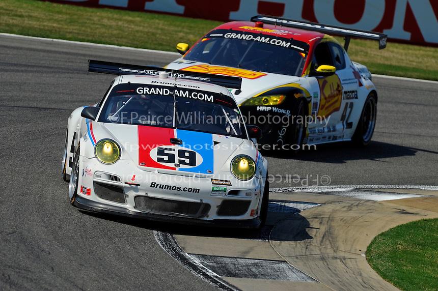 #59 Brumos Racing Porsche GT3 Cup of Hurley Haywood, Andrew Davis, Leh Keen & Marc Lieb