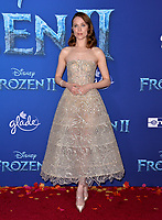 """LOS ANGELES, USA. November 08, 2019: Evan Rachel Wood at the world premiere for Disney's """"Frozen 2"""" at the Dolby Theatre.<br /> Picture: Paul Smith/Featureflash"""
