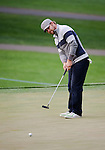 Ryan Moore putting during the second round of the Quail Hollow Championship