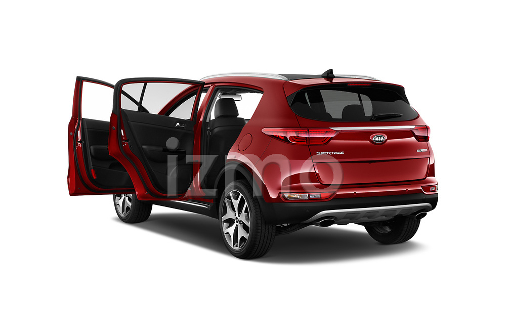 Car images close up view of a 2019 KIA Sportage SX Turbo 5 Door SUV doors