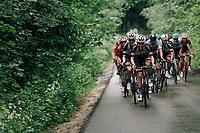 Søren Kragh Andersen (DEN/Sunweb) leading the peloton in the last kilometers<br /> <br /> Stage 3: Oberstammheim > Gansingen (182km)<br /> 82nd Tour de Suisse 2018 (2.UWT)