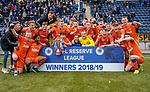 06.05.2019 Falkirk v Rangers reserves: Rangers win the SPFL Reserve League