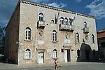 .Medival town of Trogir.Cruise in Croatia. Island of Dalmatia