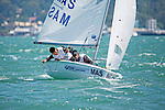 Malaysia420MenCrewMASNS4Naquib EimanShahrin<br /> Malaysia420MenHelmMASMM14Muhamad Uzair AminMohd Yusof<br /> Day2, 2015 Youth Sailing World Championships,<br /> Langkawi, Malaysia