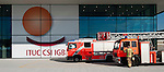 Berlin-Germany - May 22, 2014 -- International Trade Union Confederation - 3rd ITUC World Congress 'Building Workers' Power'; here, (false) fire alarm prior to the first plenary sessions -- Photo: © HorstWagner.eu / ITUC