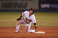 Visalia Rawhide shortstop Jancarlos Cintron (3) during a California League game against the San Jose Giants on April 12, 2019 at San Jose Municipal Stadium in San Jose, California. Visalia defeated San Jose 6-2. (Zachary Lucy/Four Seam Images)