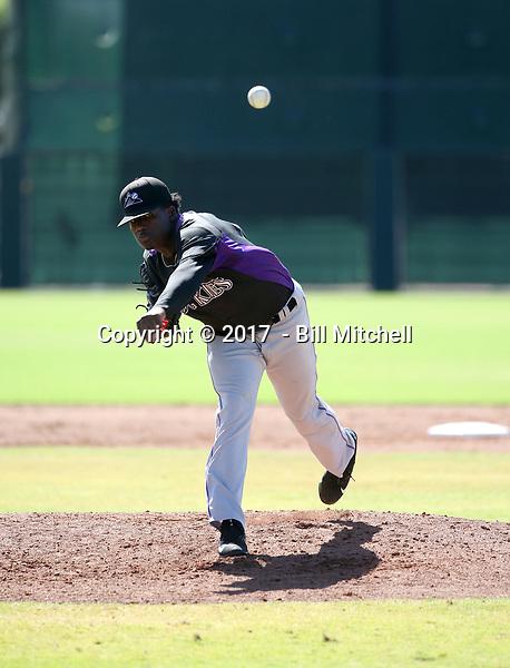 Breiling Eusebio - 2017 AIL Rockies (Bill Mitchell)