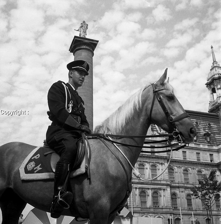 Photo d'archive de la police a Montreal