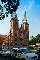 Notre-Dame de Saigon cathedral, Ho Chi Minh