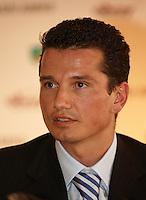 20050105, Rotterdam, ABNAMRO persconferentie, Richard Krajicek