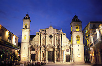 Catedral de San Cristobal de La Habana and the Plaza de la Catedral