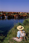 Fly fishing on the MZ Ranch, Belgrade, Montana