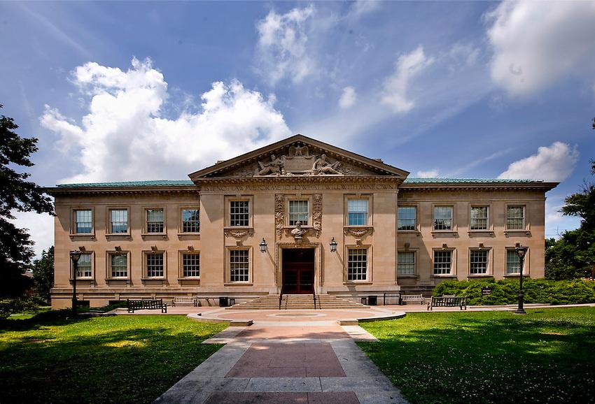 Various Lafayette College building scenics