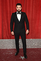 Shayne Ward<br /> arriving for The British Soap Awards 2019 at the Lowry Theatre, Manchester<br /> <br /> ©Ash Knotek  D3505  01/06/2019