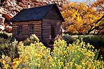 Old school house in Utah's Capitol Reef.