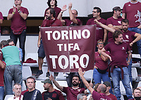 TORINO ITALY- October 2 <br /> Stadio Olimpico Grande Torino<br /> Torino Supporters<br /> during the Serie A match between Fc  Torino and Juventus Fc at Stadio Olimpico on October 2, 2021 in Torino, Italy.