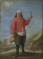Full title: Autumn<br /> Artist: David Teniers the Younger<br /> Date made: about 1644<br /> The National Gallery, London