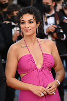 """CANNES, FRANCE. July 6, 2021: Camelia Jordana at the premiere of """"Annette"""" at the gala opening of the 74th Festival de Cannes.<br /> Picture: Paul Smith / Featureflash"""