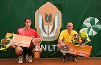 16-8-09, Den Bosch,Nationale Tennis Kampioenschappen, Finale mannen, Bart de Gier finalist en Jasper Smit kampioen