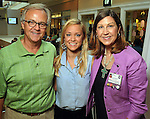 From left: Ray McCloskey, Ellen McCloskey and Ellen McCloskey at the M.D. Anderson Back-to-School Fashion Show at the Galleria Saturday Aug. 16, 2014.(Dave Rossman photo)
