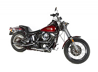"""COPY BY TOM BEDFORD<br /> Pictured: A Harley Davidson motorcycle once belonged to actor Patrick Swayze that was sold at auction<br /> Re: The iconic black leather jacket worn by Patrick Swayze in the hit film Dirty Dancing has sold for $50,000 (£38,612) at auction.<br /> It was bought by a fan after the tragic actor's wife decided to sell his movie memorabilia. <br /> The jacket had a reserve of just $6,000(£4,630) at the auction in Los Angeles but an internet bid of $25,000(£19,300) was received before the auction started.<br /> The salesroom erupted with applause when the hammer came down at $50,000.<br /> Auctioneer Darren Julien said: """"We always knew it would fetch big bucks.<br /> """"The jacket is the holy grail for Patrick Swayze fans and there are a lot out there.""""  <br /> The heart throb actor wore the James Dean-style jacket throughout Dirty Dancing including the  scene where he says: """"Nobody puts Baby in a corner"""".<br /> The jacket belonged to Swayze before the movie was made in 1987.<br /> Dirty Dancing was a low-budget movie and most of the clothes Swayze's wore were his own, including the leather jacket.<br /> Mr Julien said: """"Because it was his jacket he got to keep it after the movie and wore it whenever he felt like it."""
