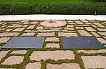 John F. Kennedy and Jaqueline Bouvier Kennedy gravesites and Eternal Flame, Arlington National Cemetery, Arlington, Virginia