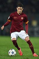 Toni Sanabria Roma <br /> Latina 17-03-2015 Stadio Domenico Francioni Football Calcio Youth Champions League 2014/2015 AS Roma - Manchester City. Foto Andrea Staccioli / Insidefoto