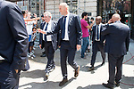 Real Madrid's coach Zinedine Zidane leaves Seat of Government in Madrid, May 22, 2017. Spain.<br /> (ALTERPHOTOS/BorjaB.Hojas)